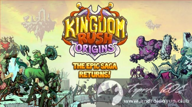 Kingdom Rush Origins v3.0 MOD APK – Para / Karakter HİLELİ