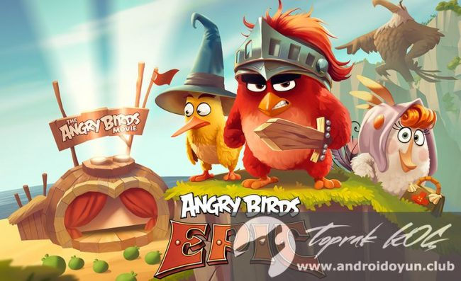 Kızgın-kuşlar epik RPG v1-4-2 modlu apk para hileli