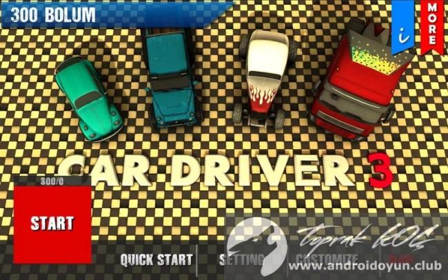 hileli Araba Sürücüsü 3 sabit park v4-0-mod-apk
