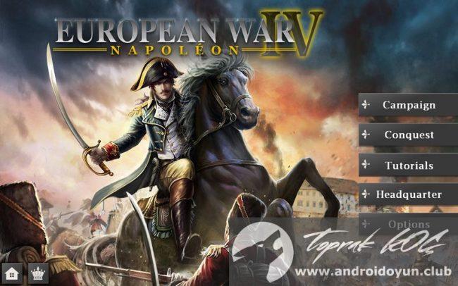 avrupa-Savaş-4-Napolyon-v1-4-2 modlu apk sınırsız madalya-hileli
