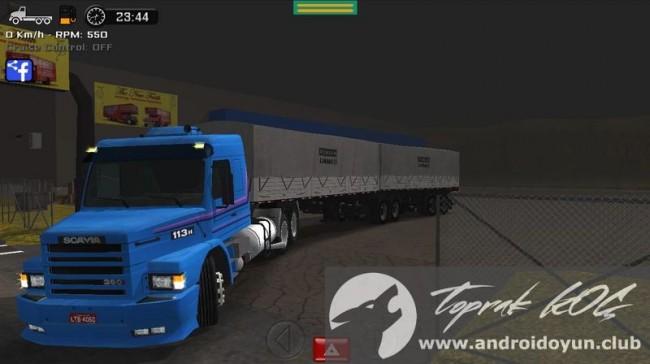 Büyük kamyon simülatörü v1-10 modlu apk para hileli