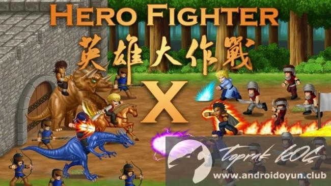 Kahraman Fighter x-v1-091 modlu apk baklava hileli