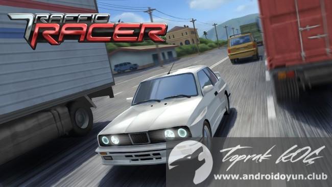 Trafik yarışçı-V2-3 modlu apk para hileli
