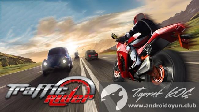 Trafik Rider v1-1 modlu apk para hileli