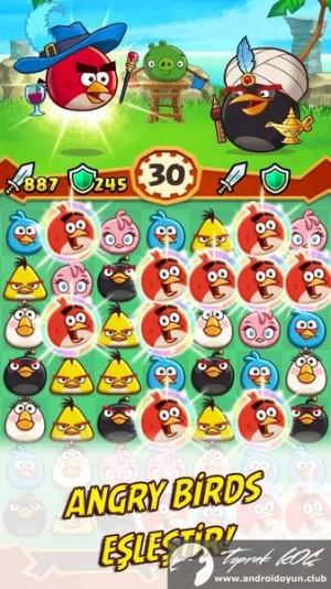 Kızgın-Kuşlar-Fight-v1-4-0 Mod .apk 1 Para-hile