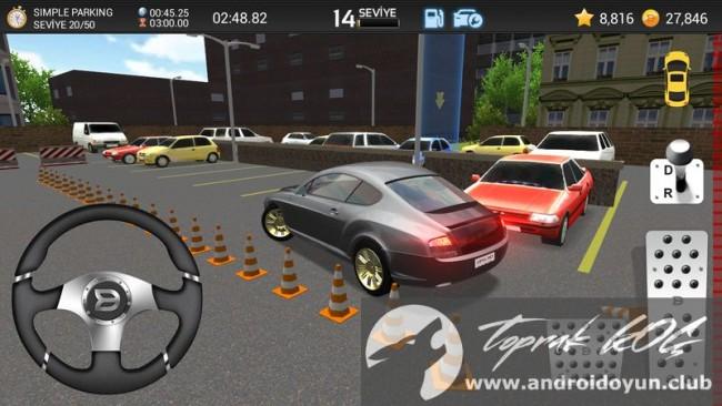 Araba Park Etme Oyunu 3D v1-01-011-80 modu apk para hileli