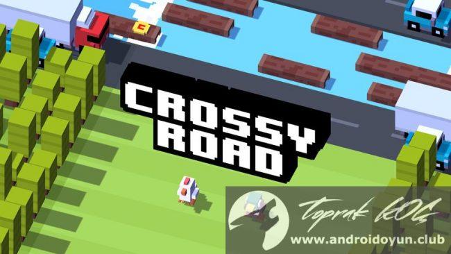 İşaretler Para hileli apk Crossy-road v1-7-0 mod