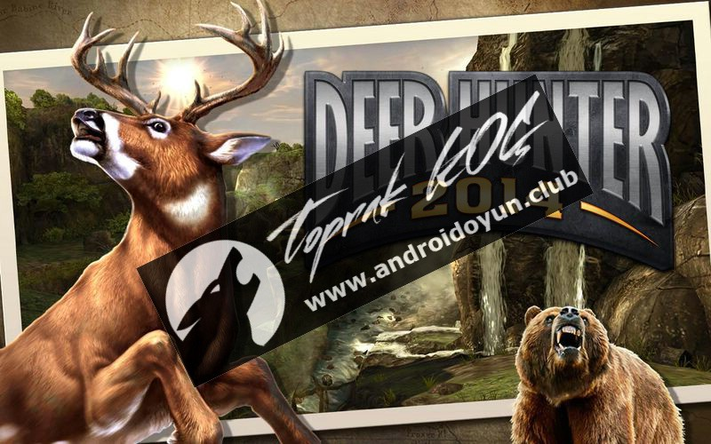 Deer Hunter 2014 v2-8-2-mod-apk para hileli