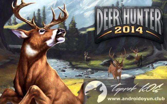 Deer Hunter 2014 v3-0-0-mod-apk para hileli