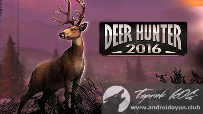 Deer Hunter 2016 v3-0-1-mod-apk para hileli