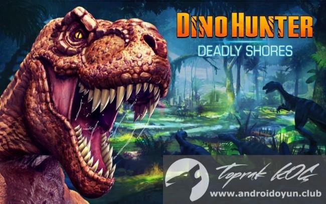 Dino Hunter v1-3-4 modlu apk para hileli