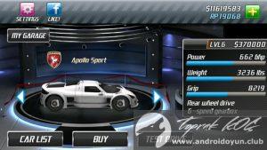 Drag Racing Classic V1-6-86-Mod-APK-Para-Cheat-2