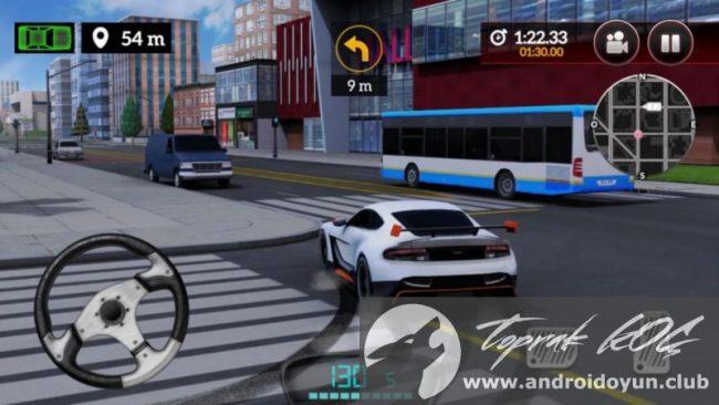 Hız Simülatörü v1-0-1 modlu apk para hileli Drive for
