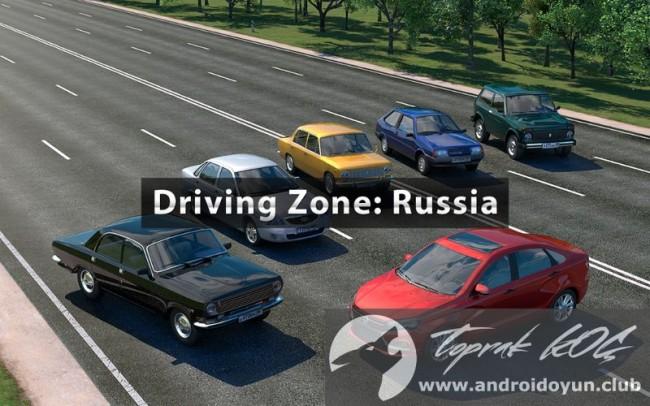 Sürüş bölgesi-Rusya-v1-14-mod-apk-para-hileli