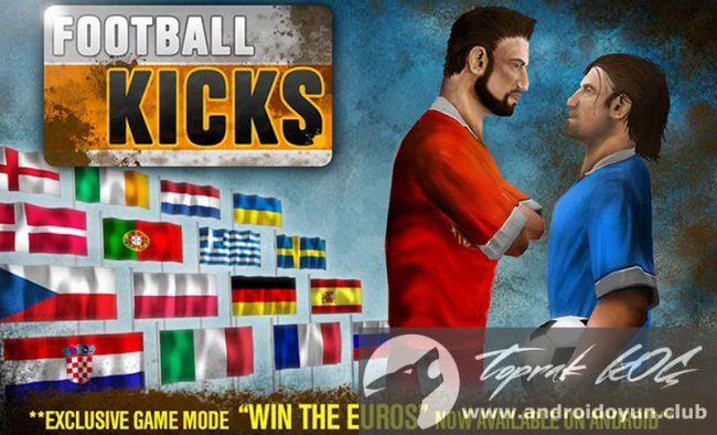 Futbol Kicks v2-0-0 modlu apk para hileli