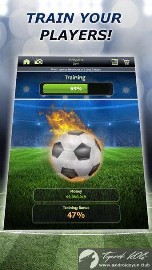 Futbol Tycoon v1-7 Mod .apk 3 Para-hile