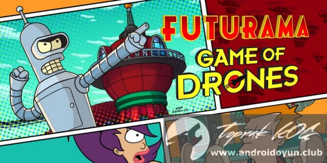Droneların Futurama Oyunu v1-0-2-modu-apk-para-sabit