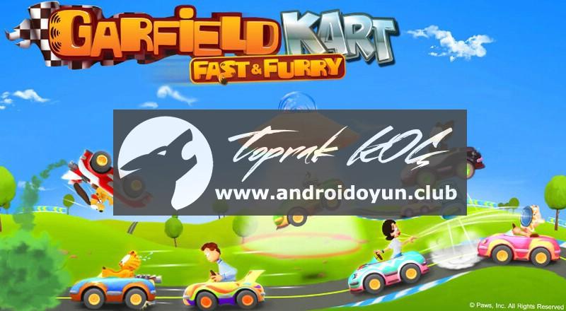 Garfield-kart-hızlı-kürklü v1-03-mod-apk-para hileli