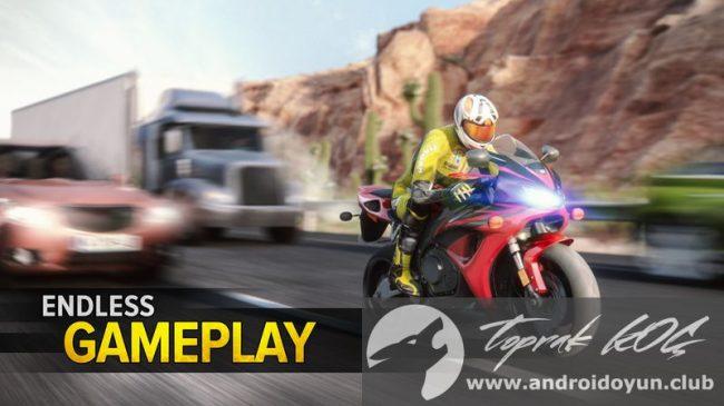 Otoyol Rider v1-9-1 modlu apk para hileli