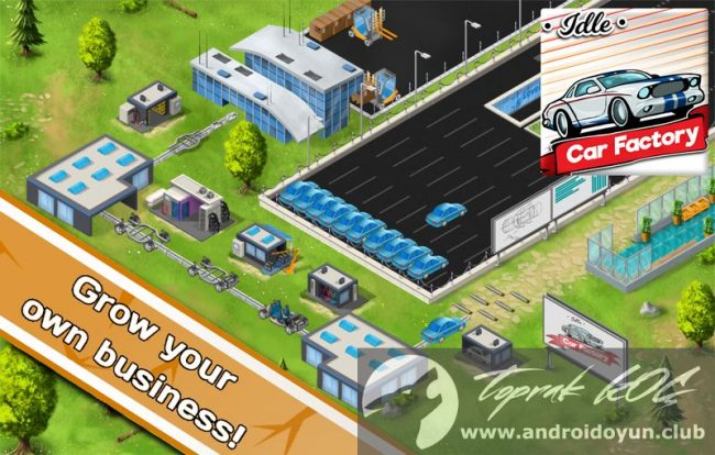 Idle Car Factory v5.9 MOD APK – PARA HİLELİ - Android Oyun ...
