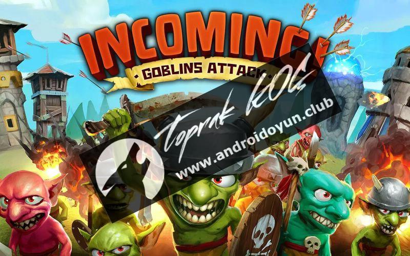 Gelen Goblinler Saldırı hileli v1-1-2-mod-apk para td