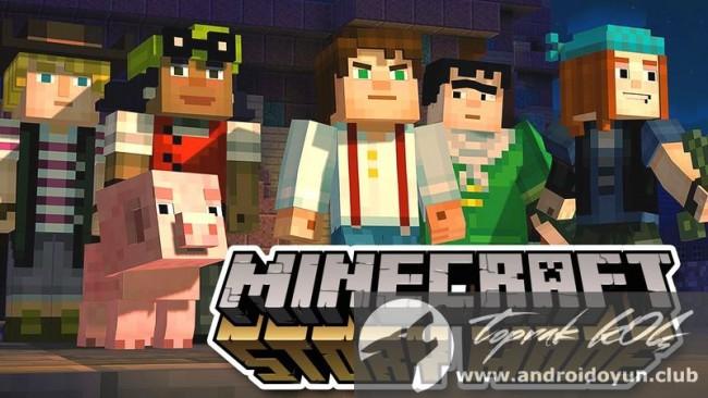 Minecraft hikaye modu v1-14 tam apk sd verileri