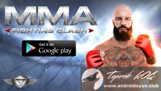 MMA Dövüş Clash v1-051 modlu apk para hileli