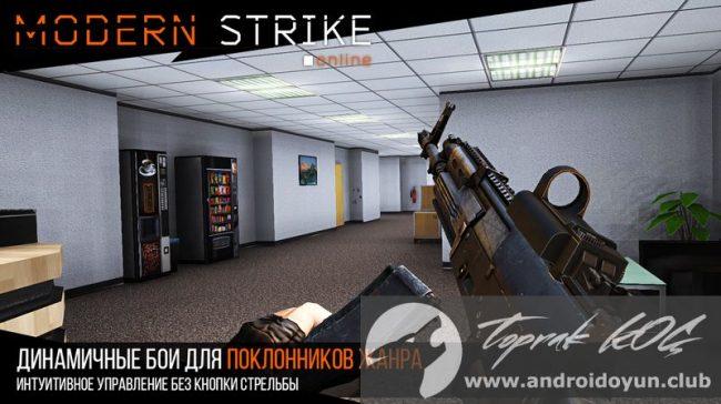 Modern Strike Online v1-1 Mod .apk Kurşun Hile
