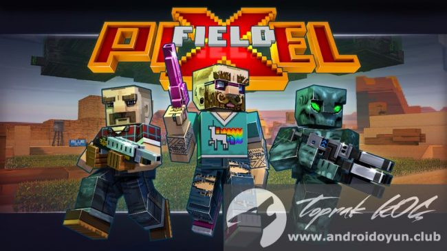 Pixelfield-v1-1-2 modlu apk para hileli
