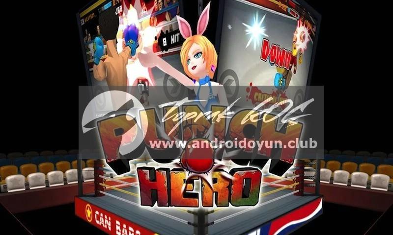 Punch Kahraman v1-3-7-mod-apk para hileli