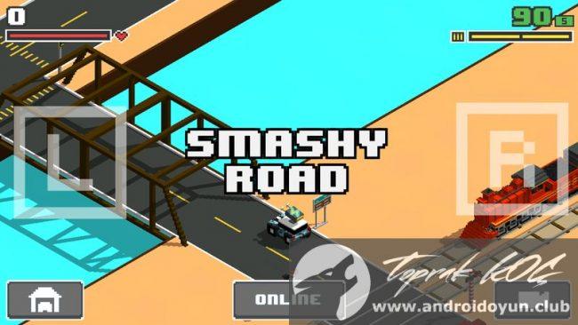 Smashy-road arena v1-0-8-mod-apk para hileli