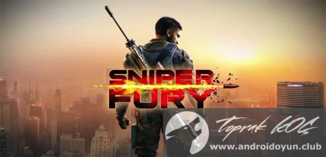 Sniper Fury v1-0-0l modlu apk Topu hileli