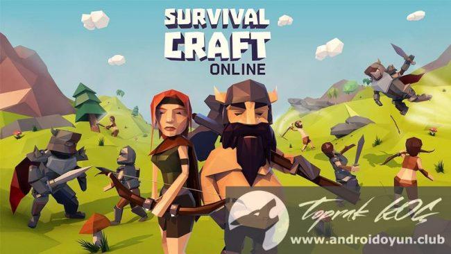 Survival-zanaat-online-v1-2-8 modlu apk mega hileli