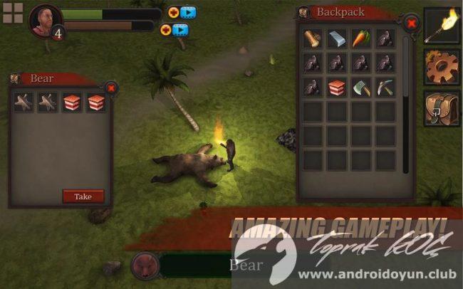 Survival oyunu Kayıp Ada pro-v1-7 modlu apk para hileli