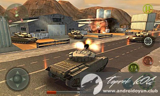 Tank Çapraz 3d V1-4 modlu apk para hileli