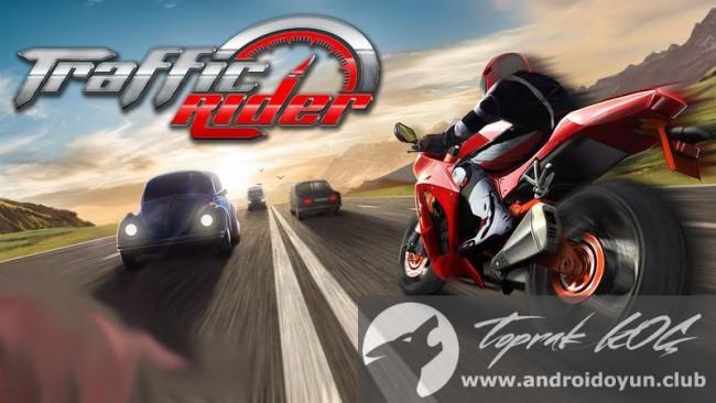 Trafik Rider v1-0 modlu apk para hileli