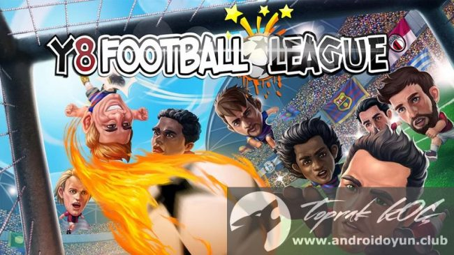 Y8 Futbol Ligi v1-1-2 modlu apk para hileli
